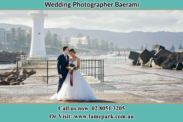 Photo of the Bride and Groom at the Watch Tower Baerami NSW 2333