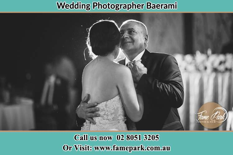 Photo of the Bride dancing with her father Baerami NSW 2333