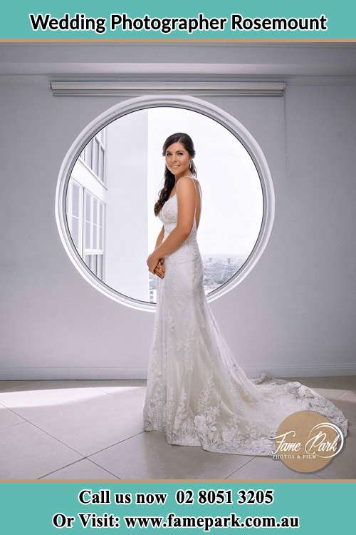Photo of the Bride near the window Rosemount NSW 2328